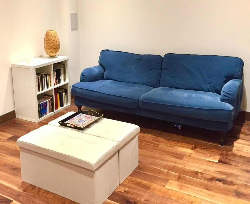 ikea stocksund 3 seater sofa 6months old rarely used and top condition only 65 of list. Black Bedroom Furniture Sets. Home Design Ideas