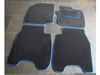 HONDA Civic 2012 on Fully Tailored Car Mats with BLUE trim