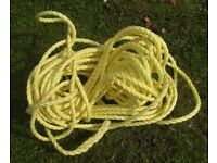 Anchor Rope (Nylon)Length 100ft for Dinghy Boat Tender Yacht