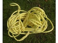 Anchor Rope (Nylon)Length 100ft for Dinghy Boat Tender Yacht