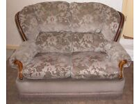 Two Seat Settee ideal for student/bedsit/landlord