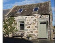 Beautiful secluded cottage in Royal Deeside sleeps 2