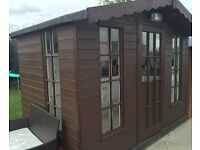 Hobby kitchen shed