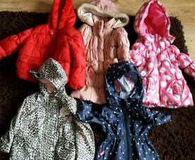 Girls coats. Age 2-3