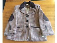 Junior J Boys Suit Tweed Style Jacket. Riding style. Aged 2-3