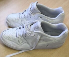 Women's NIKE FORCE Trainers Size UK 7.5 EUR 42 White