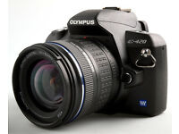 OLYMPUS Digital SLR Camera (can change lens) Model E-420