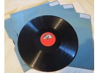 78 records, various classical music recordings, His Majesty's Voice