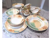 JEFF BANKS PORTS OF CALL - MARAKESH PATTERN - DINNERWARE & COFFEE/TEA SET