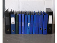Selection of Files - Mostly A4 - 2 & 4 Ring Bound, Lever Arch and Box File