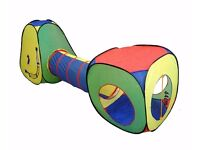 Pop Up Kids Play Tent and Tunnel