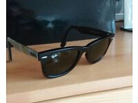 RAY-BAN SUNGLASSES. NEW. UNSUITABLE GIFT