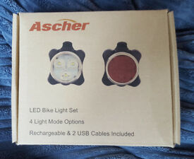 Bicycle lights and mirror - never been used