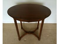 Antique oval art deco table