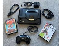 Sega Megadrive Mk1 Bundle with 2 games and Controller