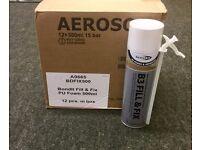 Brand new BOND-IT Aerosol Tins of Expanding Foam