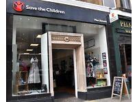 Marvellous Marchmont Shop - Join our Save the Children Shop Team!