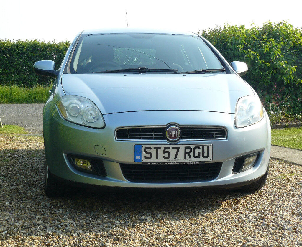 2007 Fiat Bravo Active 1.4 petrol, 5 door, manual. **NOW REDUCED**