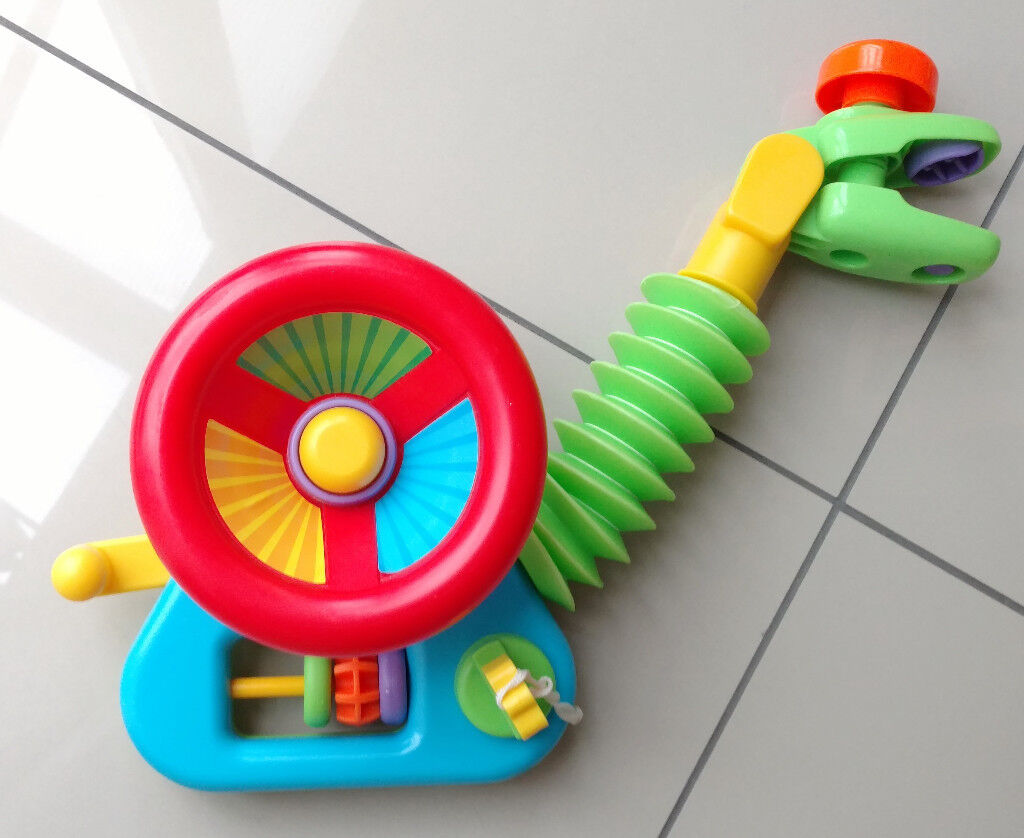 Baby, Kids, Junior Driver Car Steering Wheel Activity Toy for Buggy ...