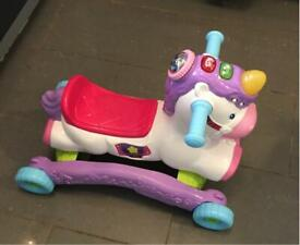 V-Tech Rock and Ride Unicorn Toy