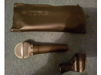 Shure SM58 microphone ( New, Free P+P)