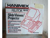 HANIMEX DB120 SLIDE VIEWER /PROJECTOR