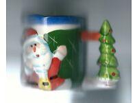 Talking & Singing Christmas Mug / New