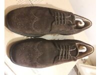 Henley Comfort Suede Lace up Shoes