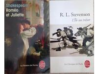 Bunch of 8 classic books in french