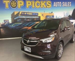 2017 Buick Encore SPORT TOURING, LEATHER/CLOTH, NAVI, SUNROOF!