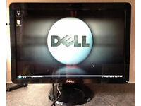 20 inch Widescreen Dell SP2009Wc 19 21 LCD TFT pc computer screen Monitor webcam usb DVI and VGA