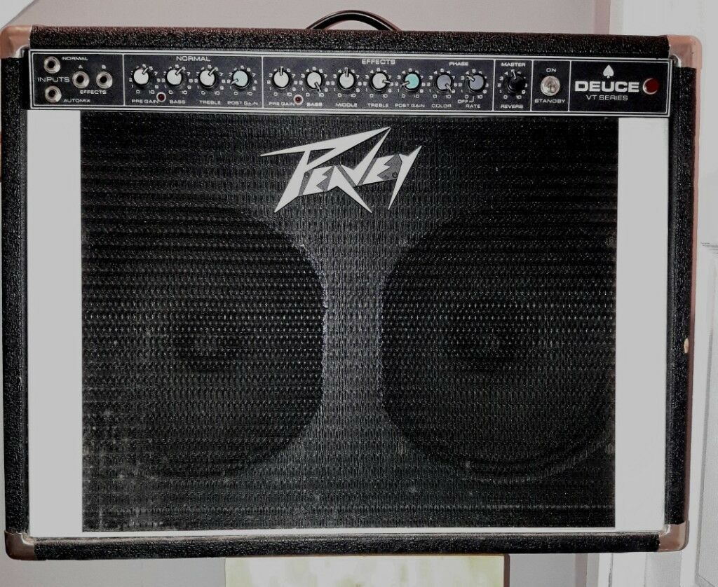 Peavey Deuce VT Series Hybrid Valve 120W 2x12 Combo Vintage Guitar  Amplifier £150 | in Glasgow Green, Glasgow | Gumtree