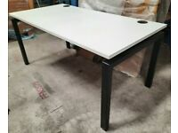 BRAND NEW WHITE TABLE - DESKS / 1200MM X 700MM ( 8 X AVAIL )