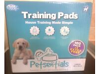 New unopened Petsentials 100 Pack Puppy Pads + 5 FREE