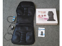 Seat massager cushion for car, chair - general purpose massage pad