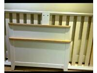 Single Wooden Bed & Trundle