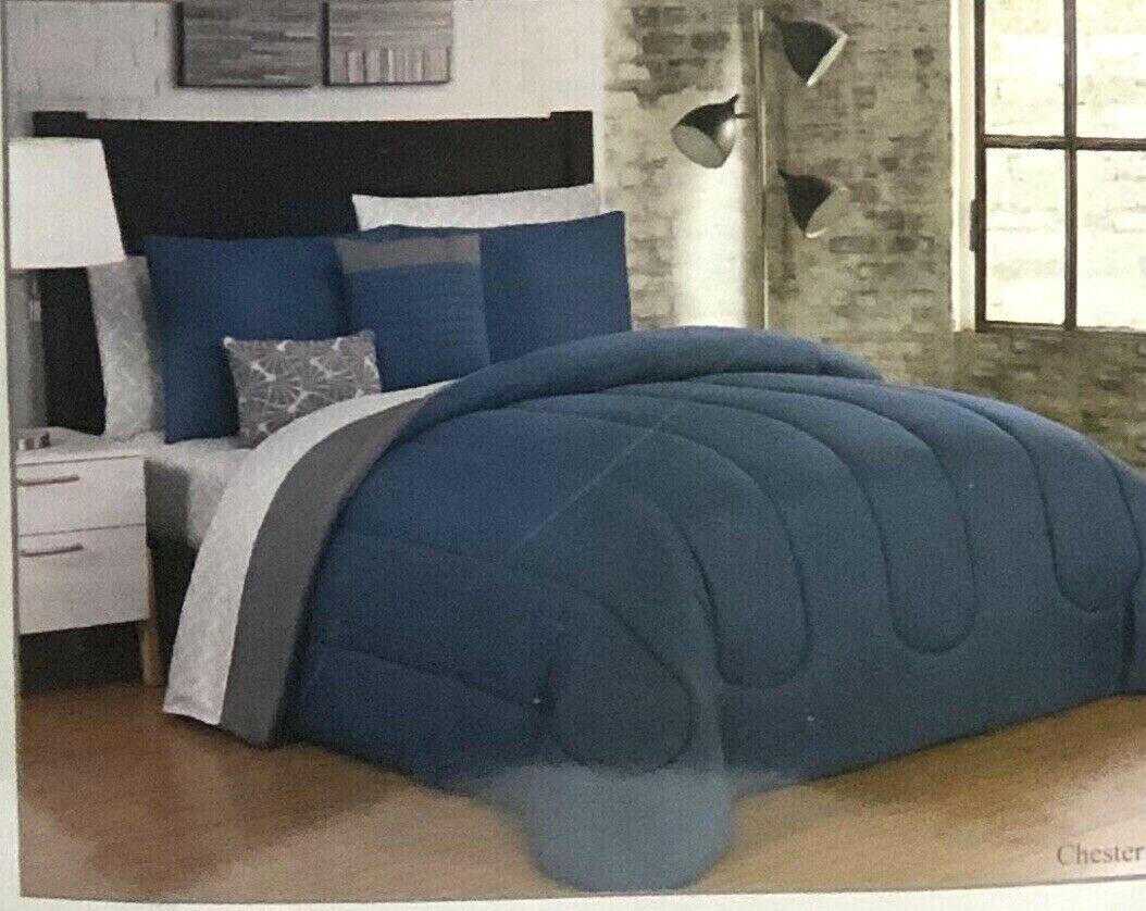 geneva julianna 9 piece queen comforter set