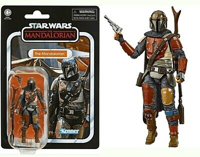 "Star Wars Vintage Collection The Mandalorian Action Figure 3.75"" Hasbro - Kenner"