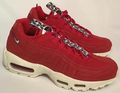 Nike Air Max 95 TT Trainers - Gym Red - AJ1844 - 600 - Men's Size UK 6.5 / 40.5