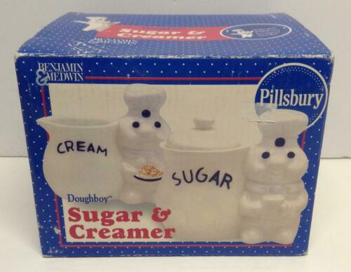 1999 Pillsbury Doughboy Sugar & Creamer