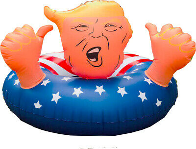 "47"" Donald Trump Float Fun Inflatable Swimming Floats For Pool Party Gag Gift"