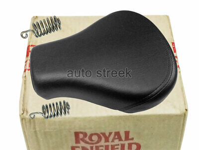 Genuine Royal Enfield Front Rider Solo Seat With Spring Classic 500cc #591066/F Front Rider Seat