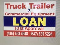 TRUCK TRAILER DUMP TRUCK  EQUIPMENT LOAN AND REFINANCING