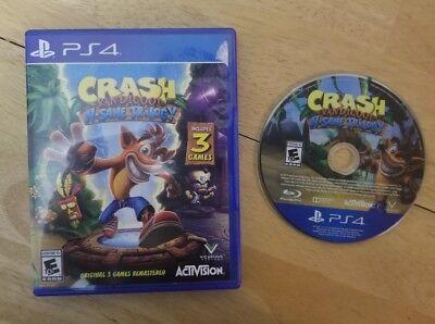 Crash Bandicoot  N  Sane Trilogy  Sony Playstation 4  2017   Complete