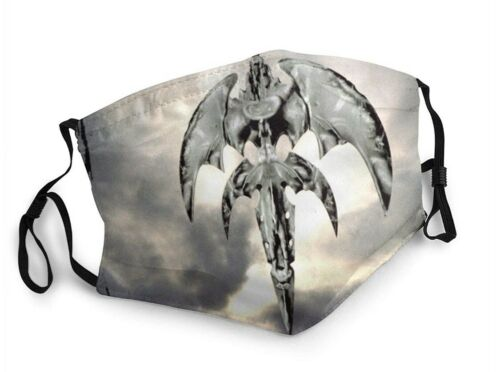 Queensryche / Geoff Tate Face Mask - Washable Breathable Reusable Dustproof - $5.95