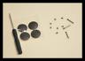 Bottom Case feet & Screws kit MacBook Pro 13