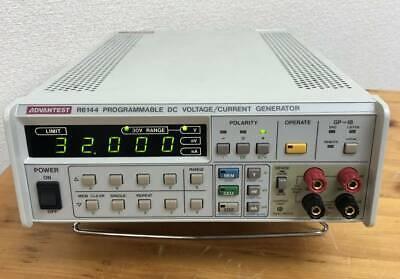 Advantest R6144 Programmable Dc Voltagecurrent Generator Standardcalibrator