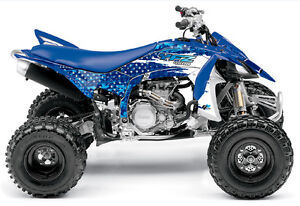 Yamaha YFZ450R YFZ450X YFZ 450R 450X Wild ATV Graphics Kit Blue