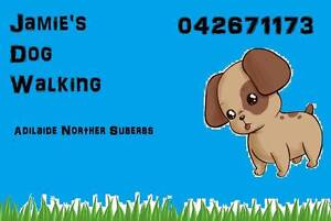 Jamie's Dog Walking Service Enfield Port Adelaide Area Preview
