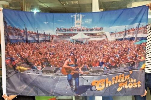 2017 Kid Rock 8th Chillin the Most cruise flag banner mancave flag Huge 3x5 ft